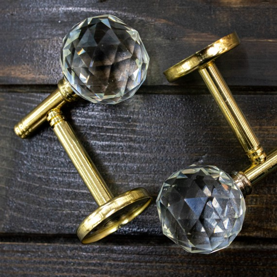 Sistem de perete, cristal auriu